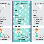 Tooth fairy receipt template 3