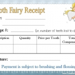 Tooth fairy receipt template 6